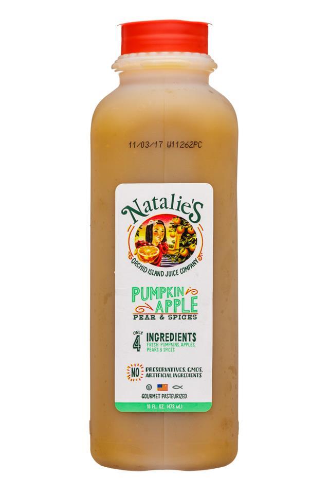 Natalie's: OrchidIsland-Natalies-16oz-Juice-PumpkinApple-Front