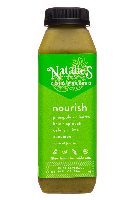 Natalie's: Natalies-10oz-2020-ColdPressed-Nourish-Front