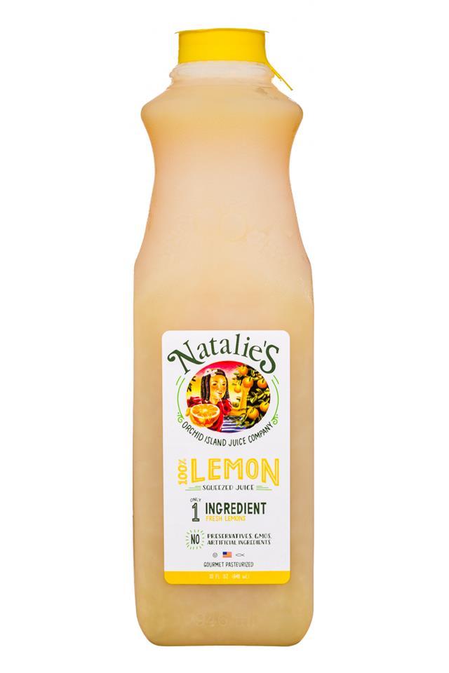 Natalie's: Natalies-32oz-Lemon-Front