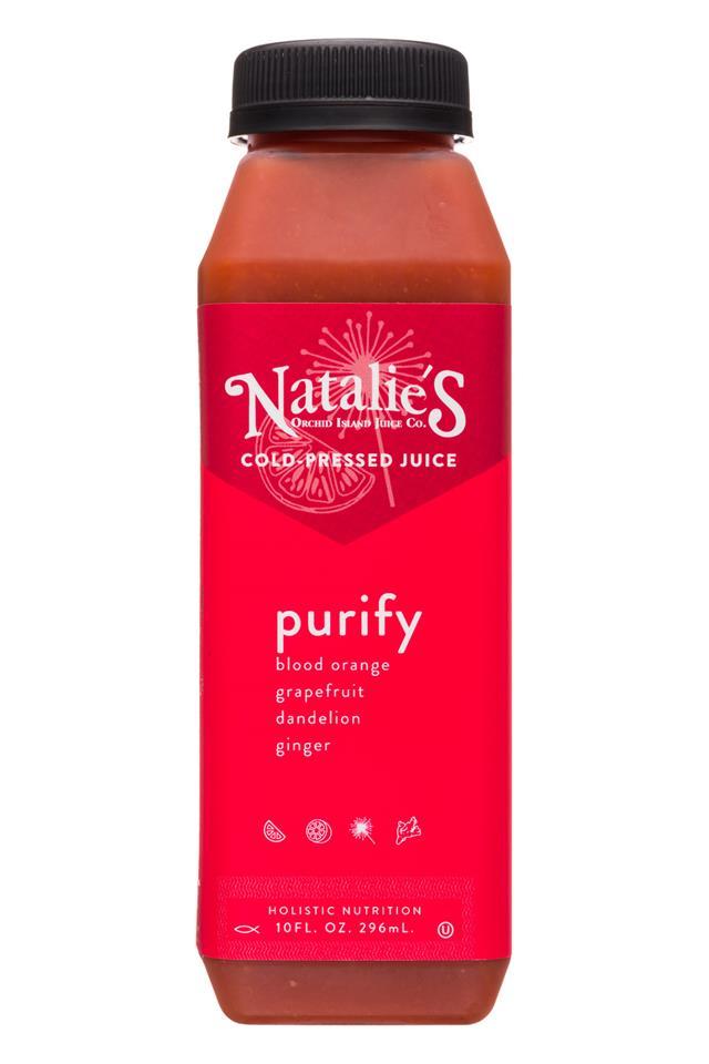 Natalie's: Natalies-10oz-ColdPressedJuice-Purify-Front