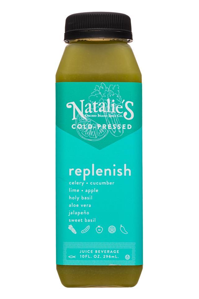 Natalie's: Natelies-10oz-ColdPressed-Replenish-Front