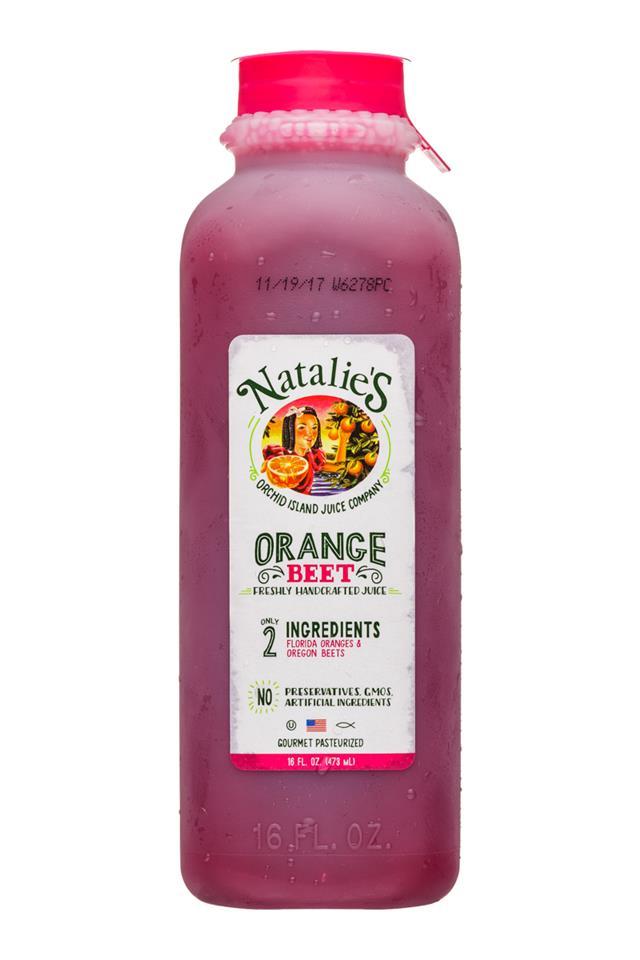 Natalie's: OrchidIsland-Natalies-16oz-Juice-OrangeBeet-Front