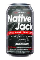 Native Jack: NativeJack-NitroHempThaiCoffee-Front