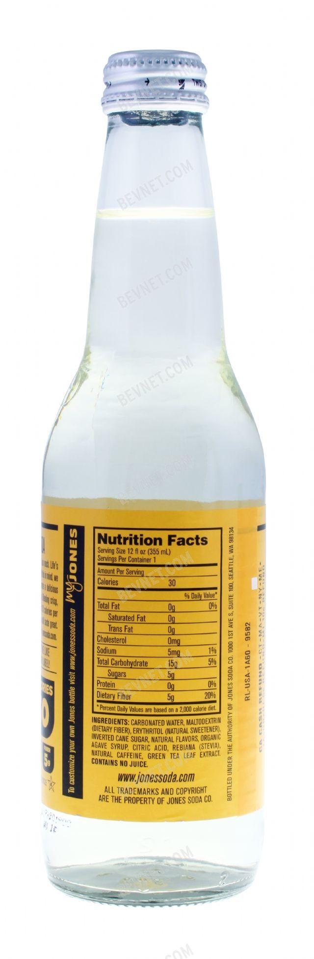 Natural Jones Soda: