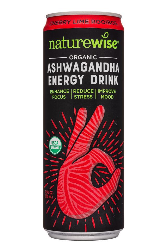 Naturewise: Naturewise-12oz-Ashawagandha-CherryLimeRooibos-Front