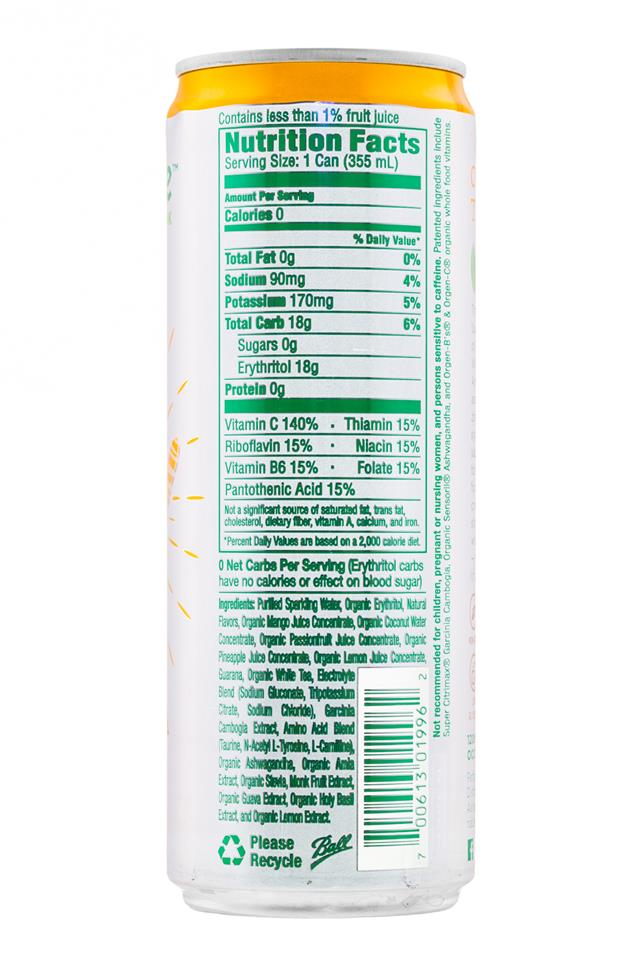 Naturewise: Naturewise-12oz-TropicalWhite-Facts