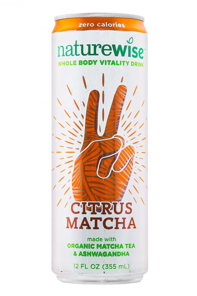 Naturewise: Naturewise-12oz-CitrusMatcha-Front