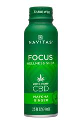 FOCUS Wellness Shot - Matcha Ginger