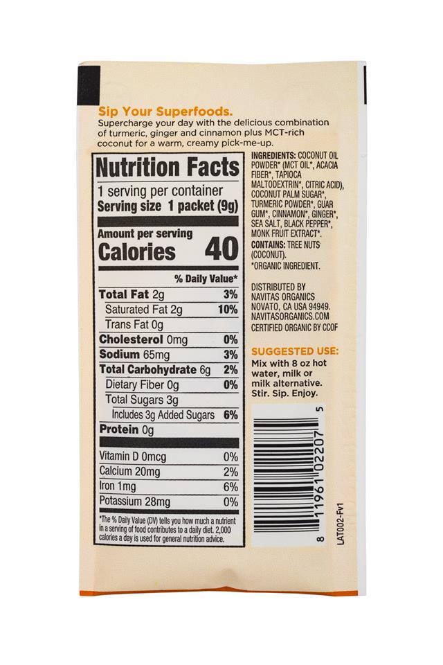 Navitas Organics - Superfood : Navitas-1oz-LatteMix-Turmeric-Facts