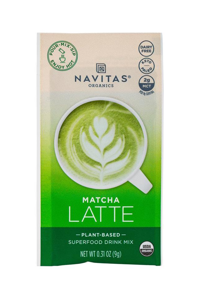 Navitas Organics - Superfood : Navitas-1oz-LatteMix-Matcha-Front
