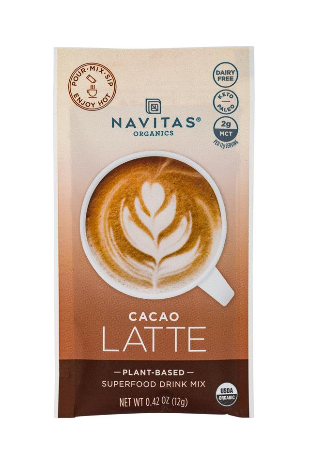 Navitas Organics - Superfood : Navitas-1oz-LatteMix-Cacao-Front
