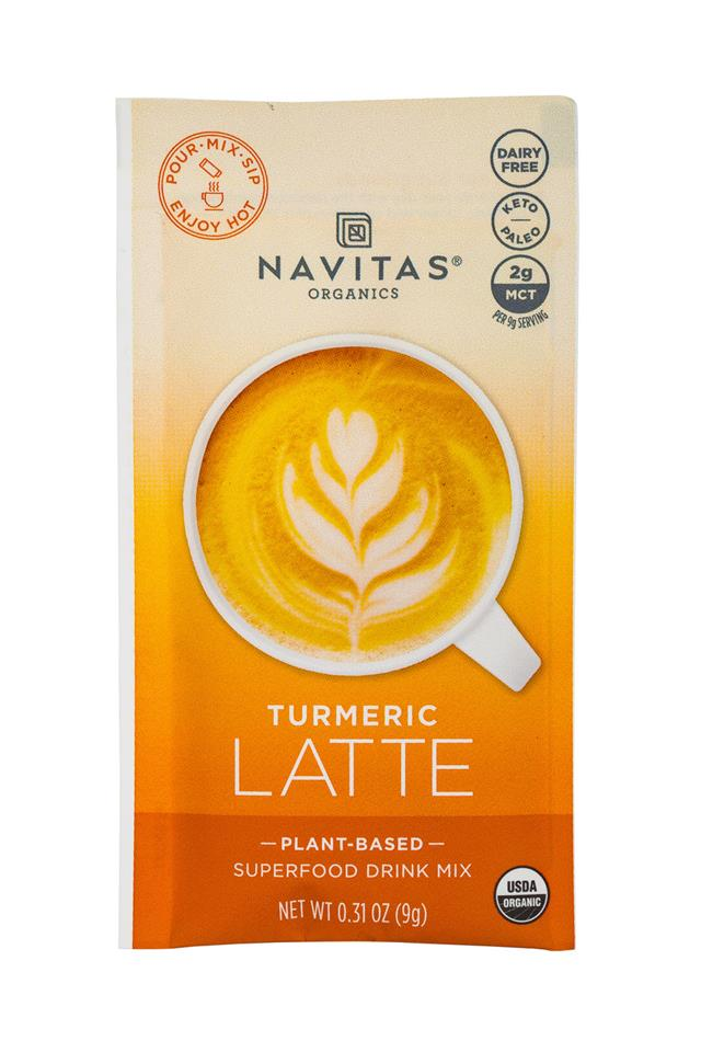 Navitas Organics - Superfood : Navitas-1oz-LatteMix-Turmeric-Front