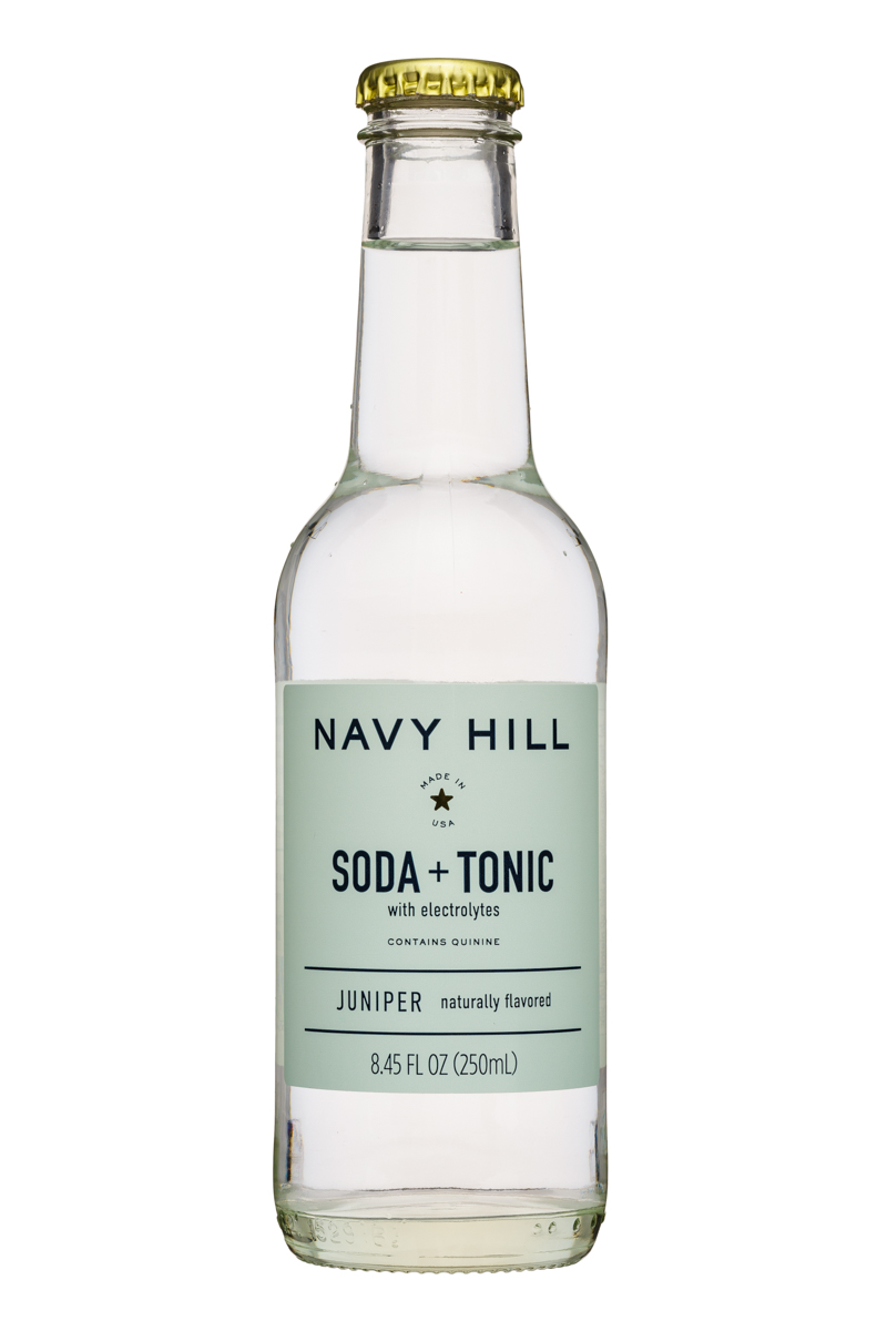 Navy Hill: NavyHill-8oz-SodaTonic-Juniper-Front