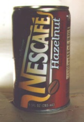 Hazelnut  Flavored Coffee Beverage