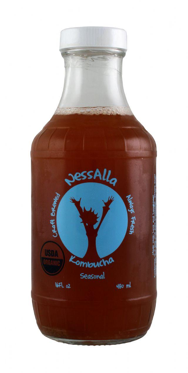 NessAlla Kombucha: Nessalla Seasonal Front