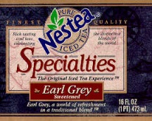 Specialties Earl Grey flavored iced tea