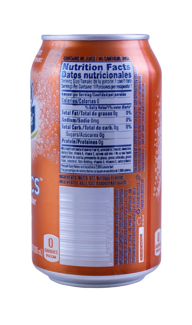 Nestle Pure Life Exotics: Nestle Tangerine Facts