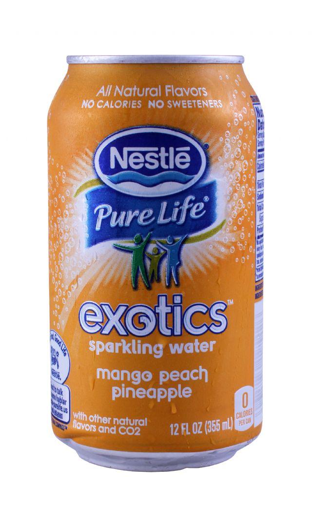 Nestle Pure Life Exotics: Nestle Mango Front