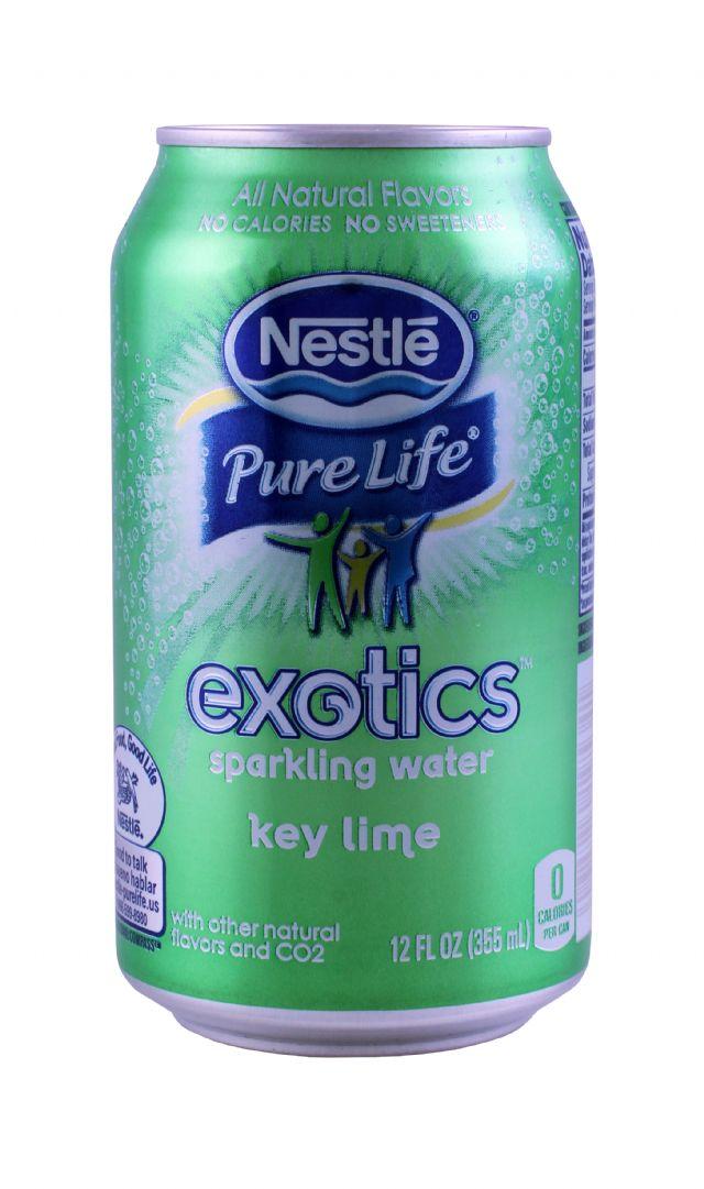 Nestle Pure Life Exotics: Nestle KeyLime Front