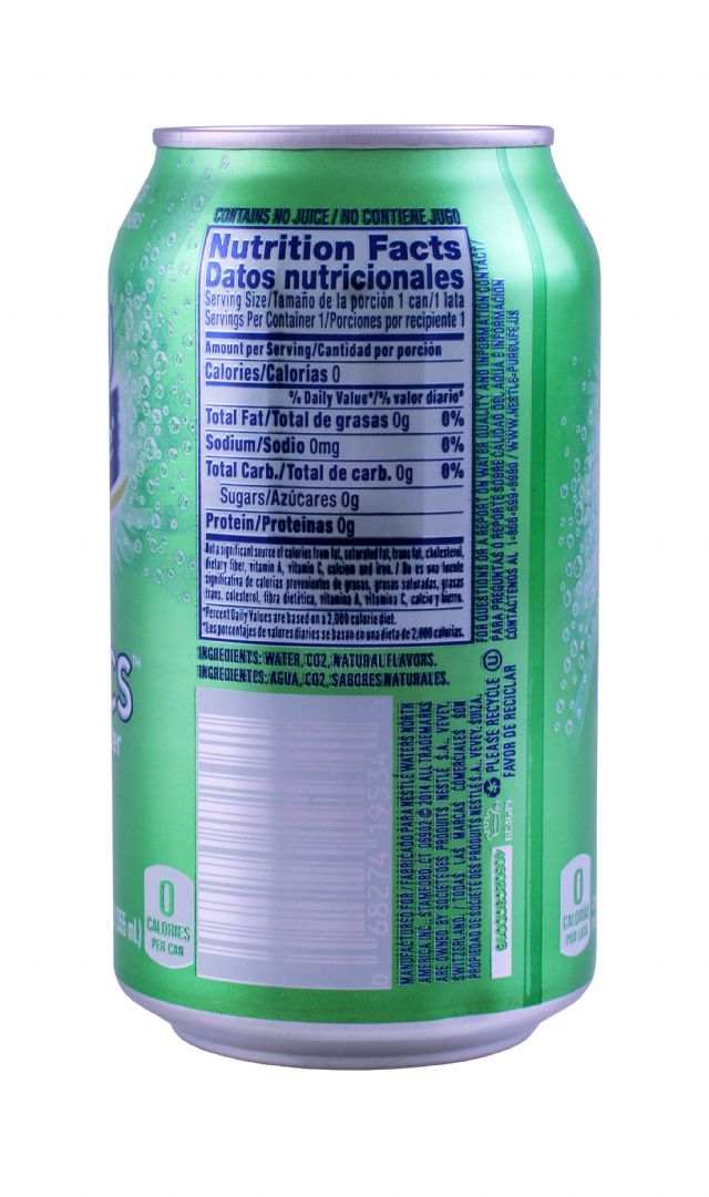 Nestle Pure Life Exotics: Nestle KeyLime Facts