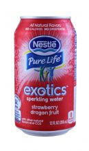 Nestle Pure Life Exotics: Nestle Strawberry Front