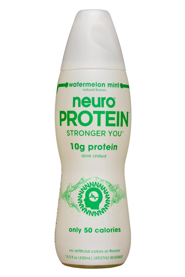 Neuro: Neuro-Protein-15oz-WatermelonMint-Front