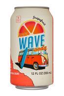 Wave Soda: NewWaveSoda-12oz-Grapefruit-Front