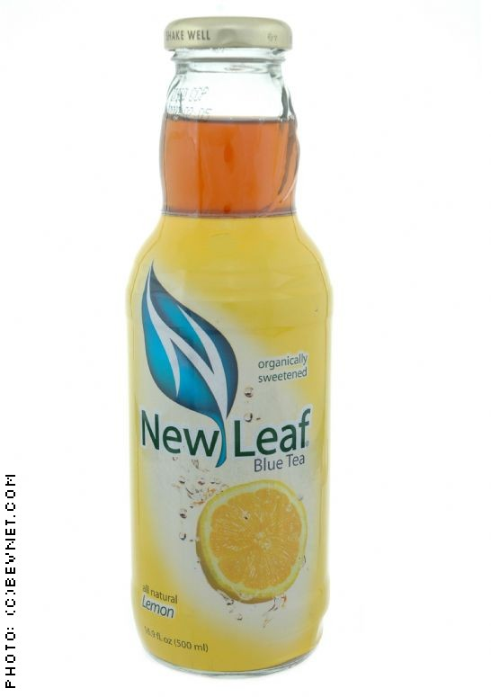 New Leaf Blue Tea: