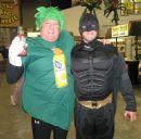 Tim Brown, New Leaf's VP Sales at Jungle Jim's in Ohio- Halloween 2009