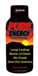 Pure Energy Shot 2 oz Btl