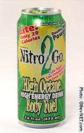 Nitro 2 Go High Octane Energy Formula Lite