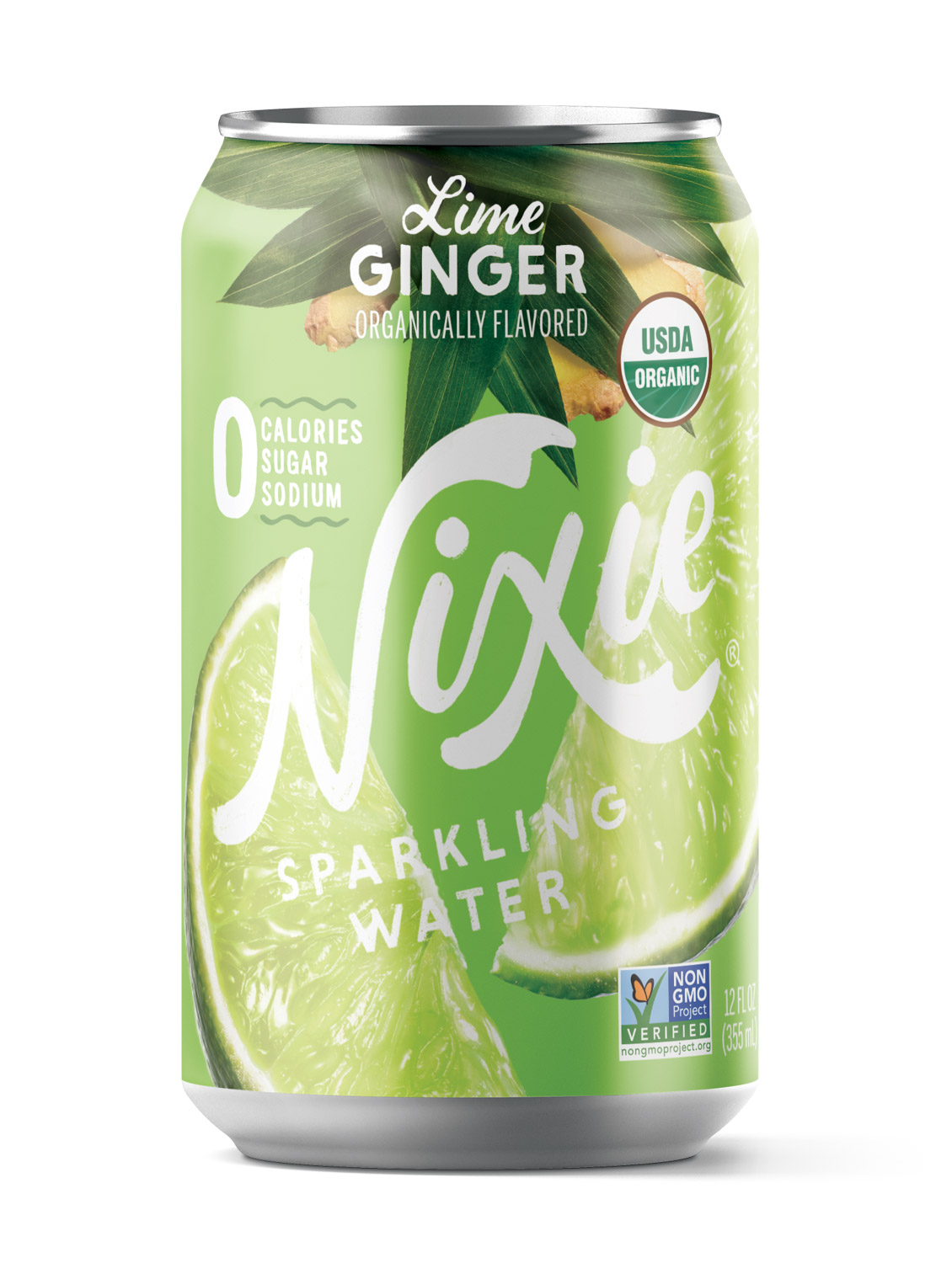 Lime Ginger Sparkling Water