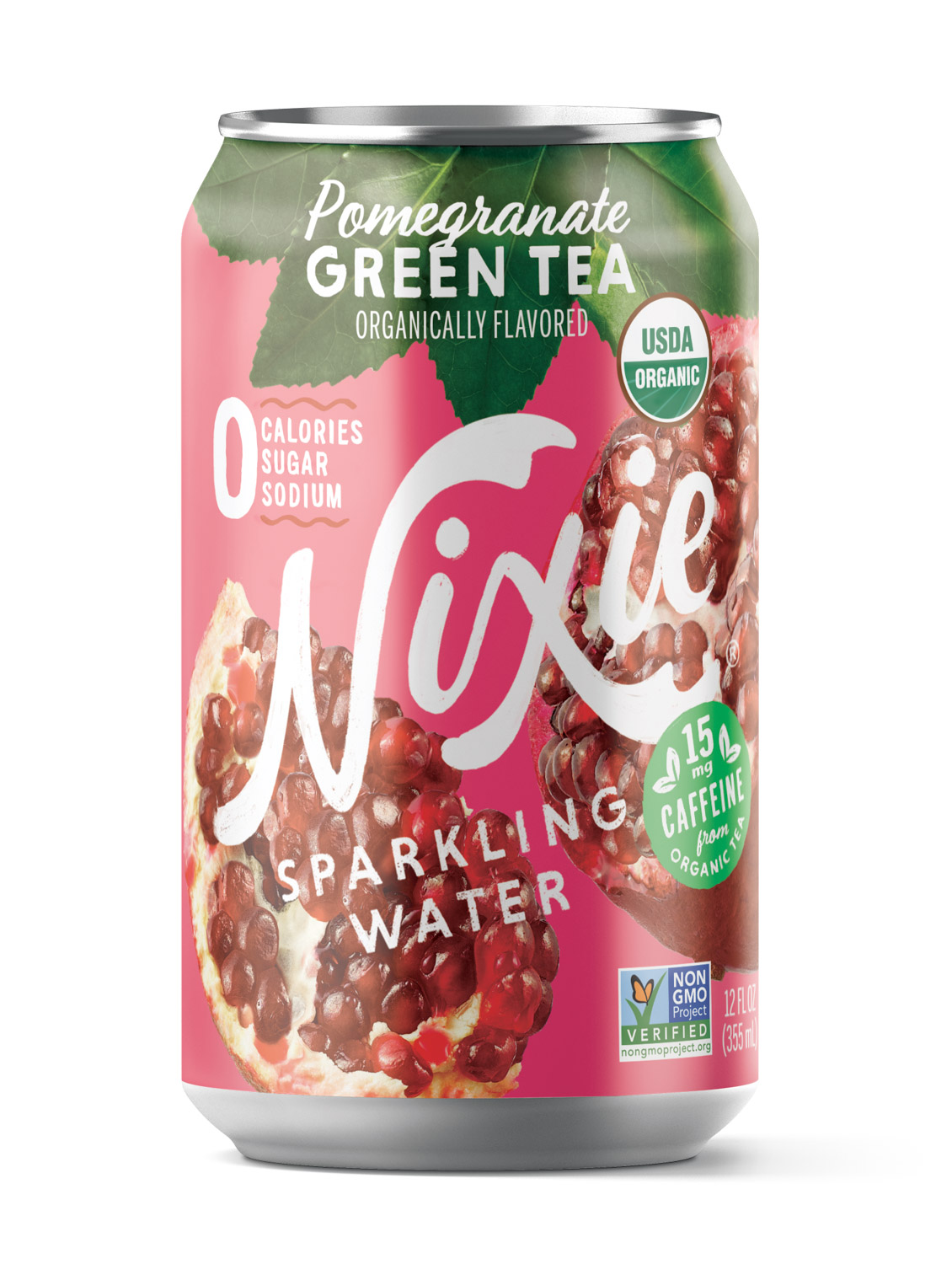 Pomegranate Green Tea Sparkling Water