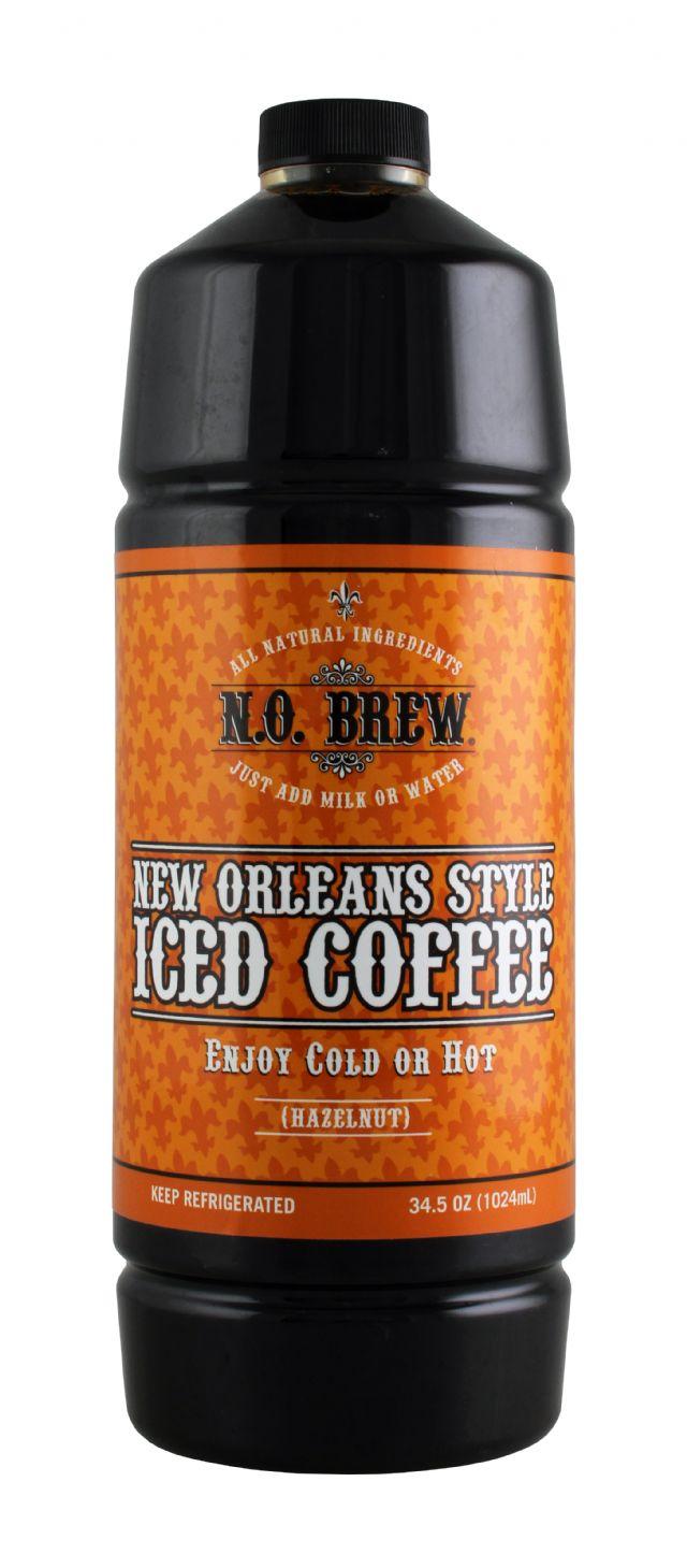 N.O. Brew Iced Coffee: NoBrew Hazelnut Front