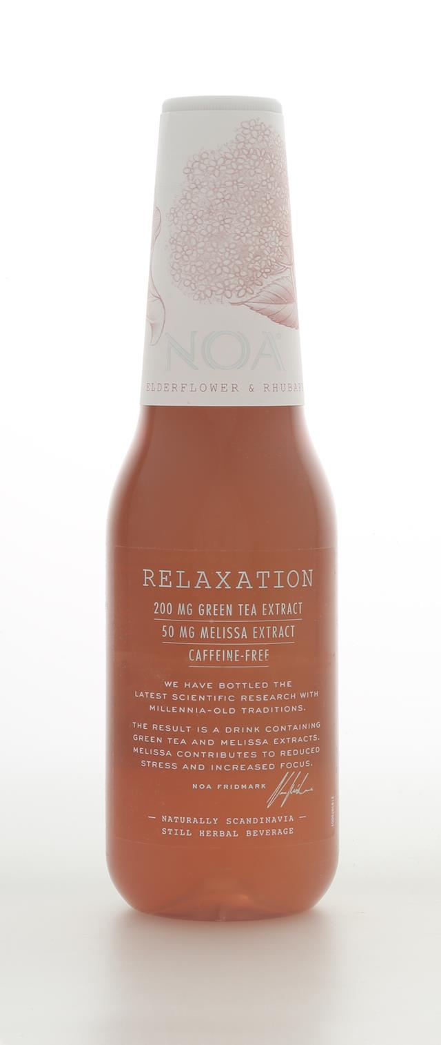 NOA Relaxation: Relaxation ElderFlower&Rhubarb Front