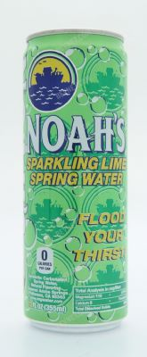 Sparkling Lime Spring Water