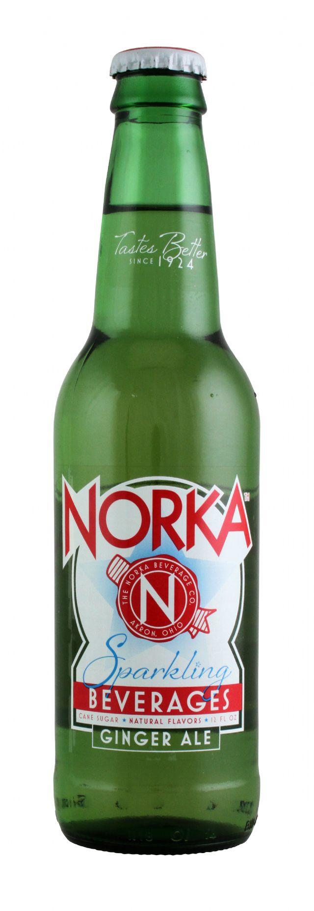 Norka Sparkling Beverages: Norka Ginger Front