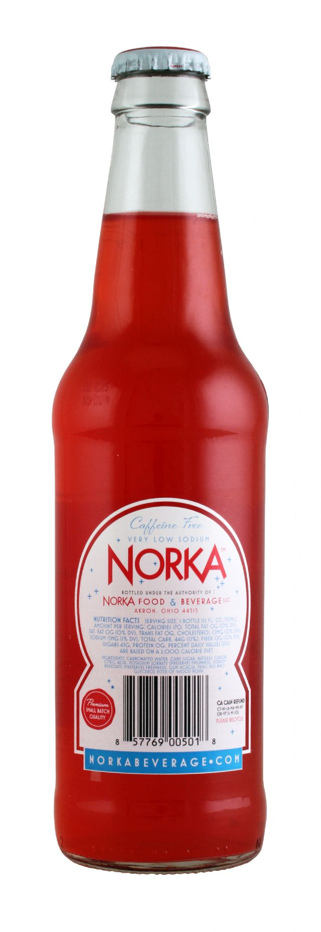 Norka Sparkling Beverages: Norka CherryStraw Facts