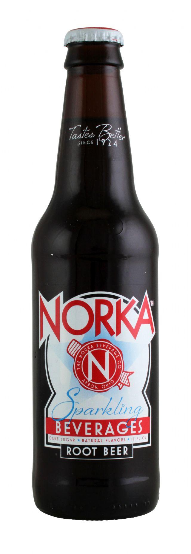 Norka Sparkling Beverages: Norka Root Front