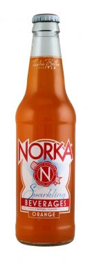 Norka Sparkling Beverages: Norka Orange Front