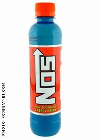 nos high performance energy drink bottle nos high