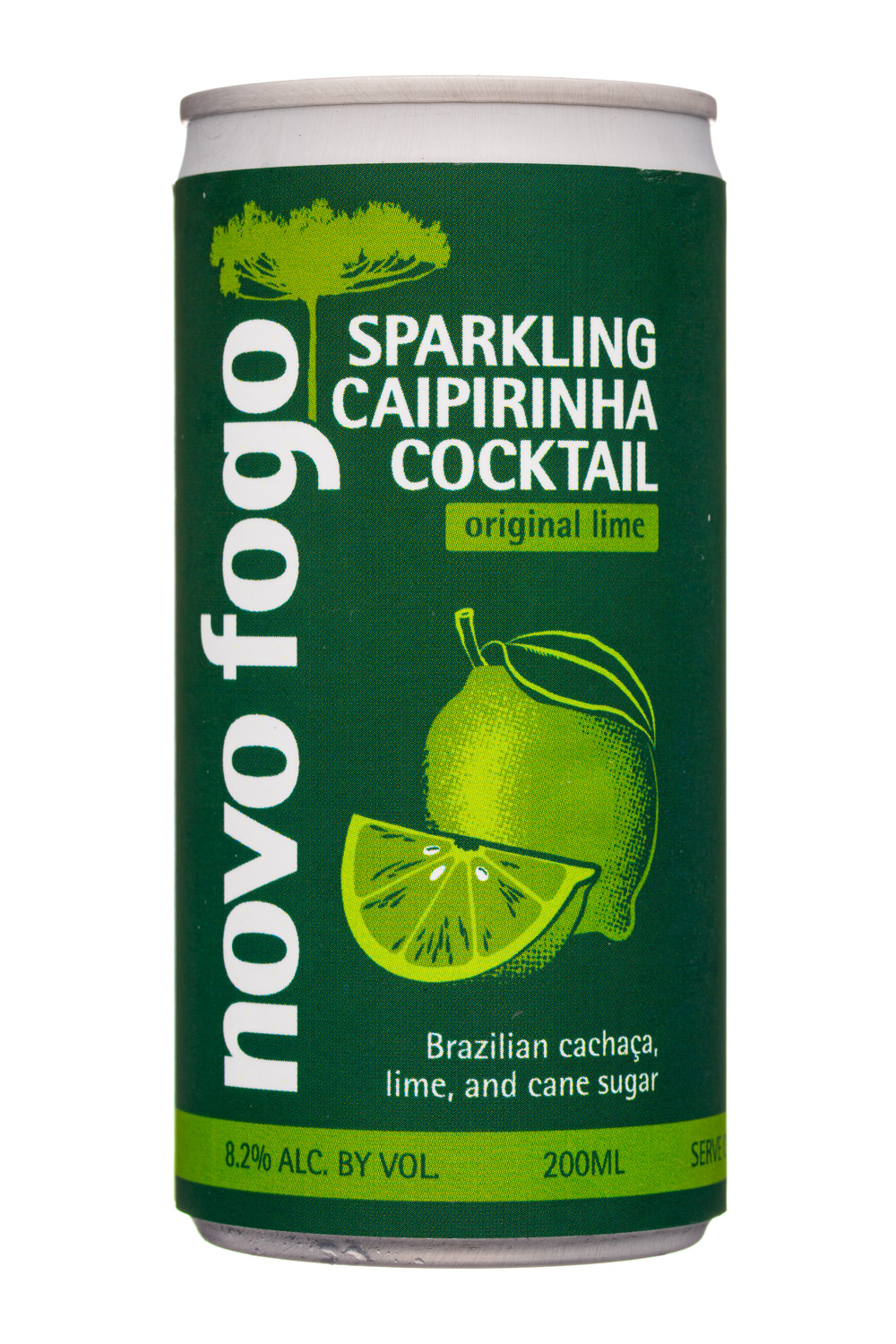 Sparkling Caipirinha Cocktail - Original Lime