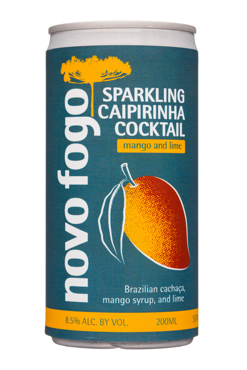 Sparkling Caipirinha Cocktail - Mango and Lime