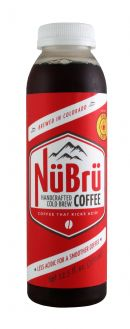 NuBru Handcrafted Cold Brew Coffee: Nubru Pinon