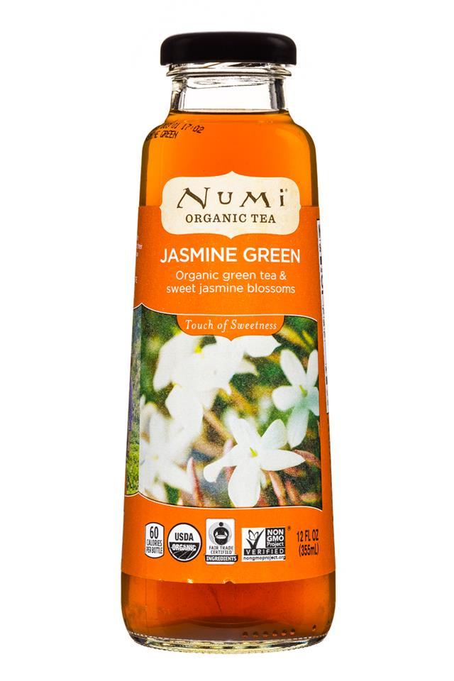 Numi Organic Tea: Numi-12oz-OrganicTea-JasmineGreen-Front