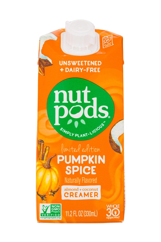 Nut Pods: NutPods-11oz-2020-LimitedEditionCreamer-PumpkinSpice