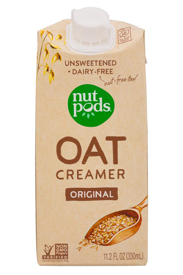 Nut Pods: NutPods-11oz-2020-OatCreamer-Original-Front