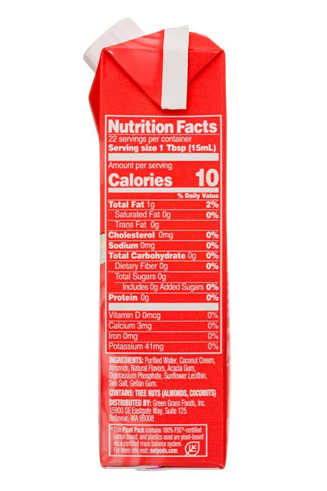 Nut Pods: NutPods-11oz-UnsweetCreamer-CinnSwirl-facts