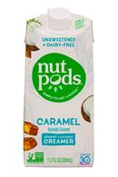 Nut Pods: NutPods-11oz-UnsweetCreamer-Caramel-Front