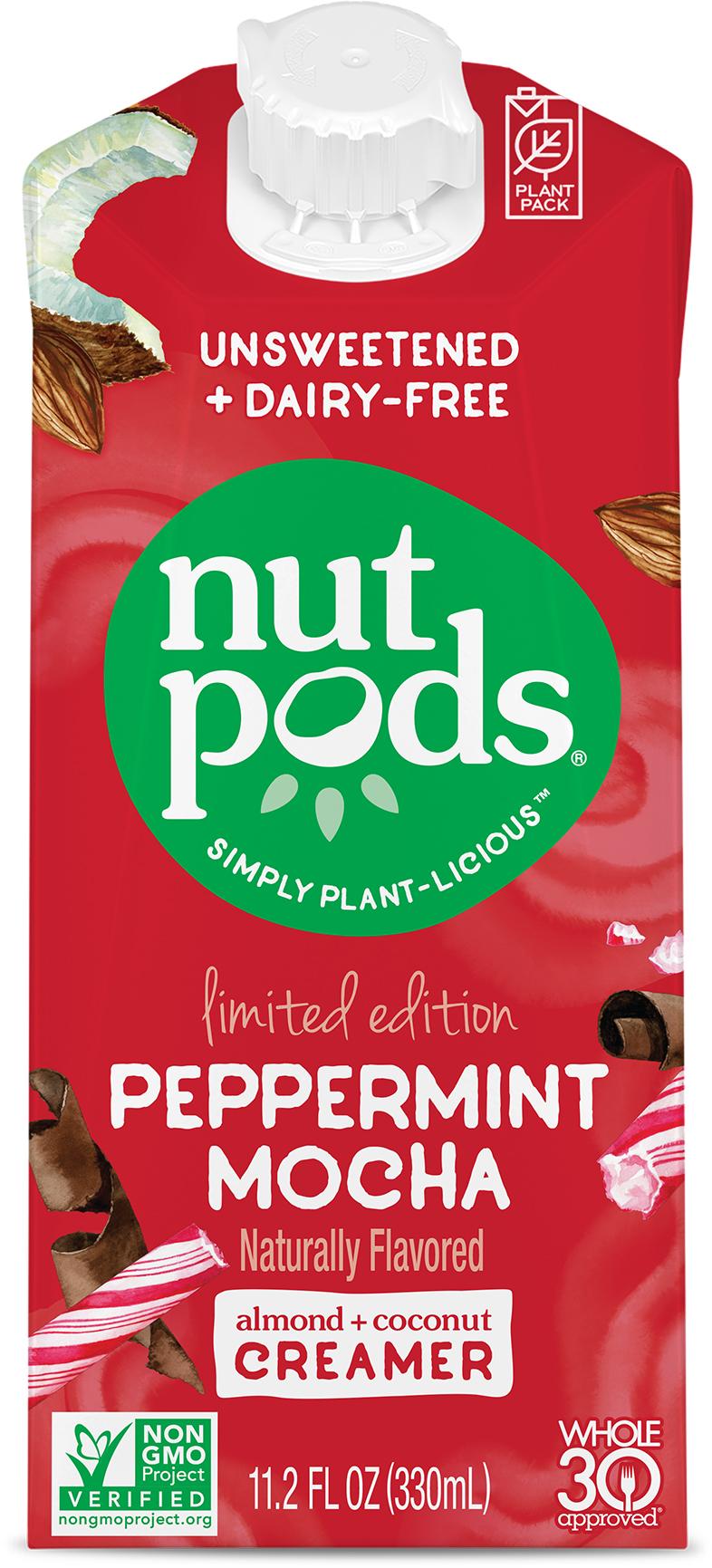 Peppermint Mocha dairy-free creamer